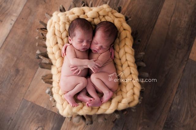 Gêmeas Beatriz e Luísa fazem parte do portfólio da fotógrafa.